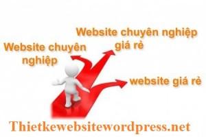 thiết kế website wordpress giá rẻ