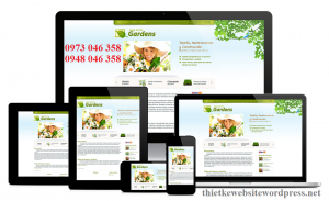 Thiết kế website wordpress chuẩn Mobile
