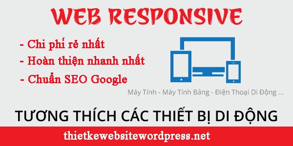 Thiết kế website wordpress trên Mobile
